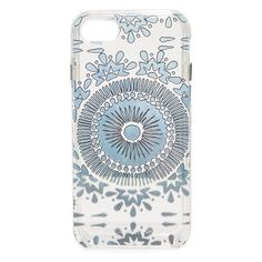 Rebecca Minkoff Batik Print iPhone 7 Case (€33) ❤ liked on Polyvore featuring accessories, tech accessories, iphone cover case, apple iphone case, rebecca minkoff, metallic iphone case and transparent iphone case