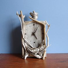 Driftwood Clock from Woodwise