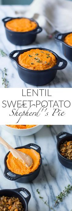 This Lentil Sweet Potato Shepherds Pie is quite possibly the most hearty and comforting vegetarian meal there ever was.