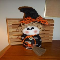 Halloween-Sock Witch- Black/Gray Dot. Starting at $12 on Tophatter.com!