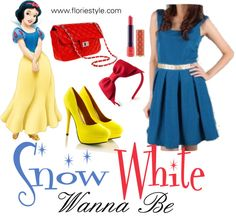 """""""Snow white wanna be"""" by floriestyle on Polyvore"""