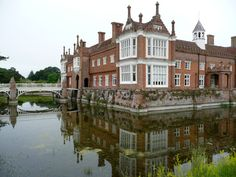 Helmingham Hall, Suffolk. Scene of a delightful stay in the summer of 2011 - http://patrickbaty.co.uk/2013/09/15/tour-of-english-country-houses/