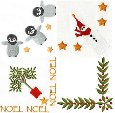 Perfect for your Christmas napkins,towels and pillows, Get a head start on Christmas,                  Free 20th Mar-27th Mar