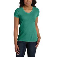 2edd09070ca 100336 Carhartt Women s Calumet Vneck T-Shirt Carhartt