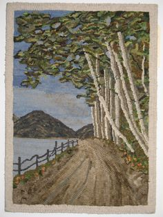 Totally-Hooked Rug Hooking Escapades: Even More Hooked Rugs From Hooked in the Mountains XIV