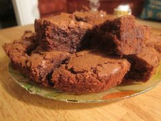 These look tasty! Chocolate Orange Fudge Brownies | TheEconomicalEater.com