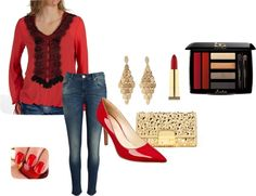 """""""Red"""" by pita81 on Polyvore"""