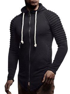 YOcheerful Mens Jumpsuit Playsuit Sportswear One Zip Onesie Hoodie Solid Sports Jumpsuit Playsuit Romper