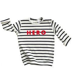 2487c9dc3 Breton Stripe HERO Sweatshirt via organiczoo. Click on the image to see  more! Coto
