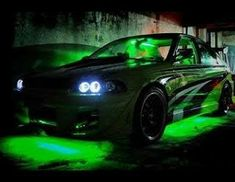 Neon Car, Cars, Vehicles, Stuff Stuff, Motorbikes, Rolling Carts, Autos, Car, Car