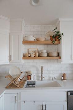 Kitchen Dining, Kitchen Decor, Kitchen Cabinets, Kitchen Ideas, Home Design, Interior Design, Interior Decorating, Orange House, House Cleaning Tips