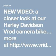 NEW VIDEO: a closer look at our Harley Davidson Vrod camera bike… more athttp://www.vridetv.com/projectvrod.html https://youtu.be/uKe9eJP5oIY