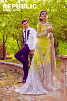 Republic by Sana Omar's debut bridal collection.