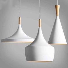 Diseño de nueva Lámpara Colgante Luz del Golpe de nuevo Blanco de madera Araña instrumento, 3 UNIDS/PACK en Luces colgantes de Luces e Iluminación en AliExpress.com   Alibaba Group