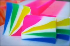 Rianbow Soap