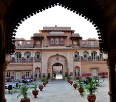 Chomu Palace is a grand #heritagehotel at 33 kms from #Jaipur at Chomu which is a small Rajasthani village steeped in heritage on the Sikar Highway at about 270 kms from Delhi.Its #beautiful courtyards, gardens, curved arches and colourful ceilings are simply breathtaking. This place offers #guests a memorable #stay with a touch of #royalty. #fivestarhotels #luxury