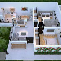 Karen g2 – nowoczesny dom z pięknym tarasem od pracownia projektowa archipelag nowoczesny | homify Village House Design, Village Houses, Furniture, Home Decor, Architects, Homemade Home Decor, Home Furnishings, Interior Design, Home Interiors