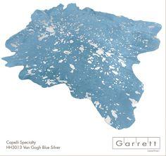 HH3013-Van Gogh White Blue Silver