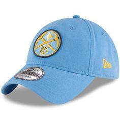 watch a751b 73332 Men s New Era Light Blue Denver Nuggets Official Team Color 9TWENTY  Adjustable Hat