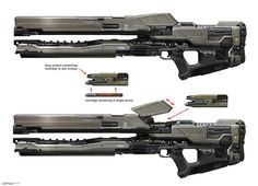 halo 5 weapon concept - Google Search