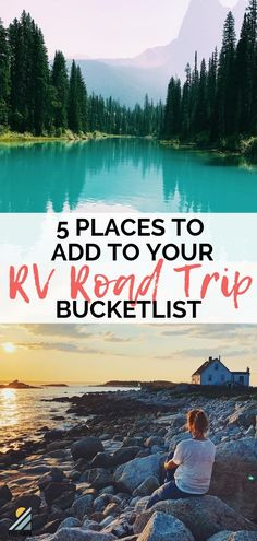 Are you looking for some epic, not-to-be-forgotten, RV road trip destinations? Do we have a list for you! We rounded up our top 5 places to RV after spending 17 months on the road traveling the USA and Canada. We know you'll love these places too! #rvroadtrip #routes #rvcamping #rvtravel #rvdestination #usa #canada