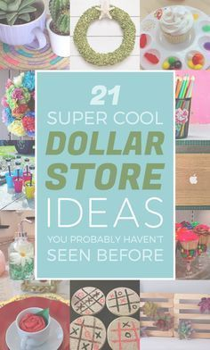 Ingenious Dollar Store Ideas You'll Want To Try Insanely creative on a budget. MoreInsanely creative on a budget. Dollar Store Hacks, Dollar Tree Store, Dollar Stores, Dollar Store Gifts, Dollar Store Decorating, Dollar Dollar, Dollar Items, Thrift Stores, Dollar Tree Decor
