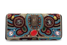 Bolsa Corello bordada tipo clutch