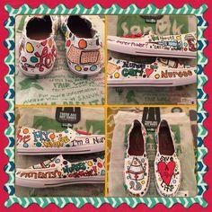 Sanuk Nurse Shoes: by: Karen Laughlin