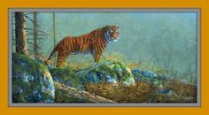 Siberische tijger siberian tiger oil painting
