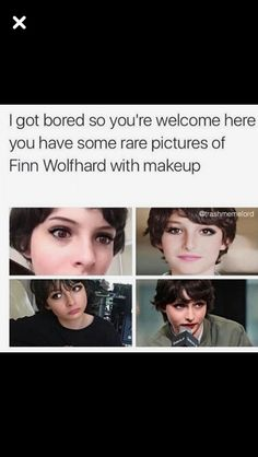 Damn. I mean that eye liner is on point like I can't even put on lipstick without fucking up..