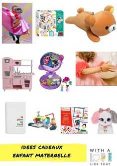 les jeux préférés de ma fille en maternelle Rilakkuma, Super Heroine, Playing Cards, Games, Inspiration, Visual Aids, Thank You Mom, Tabletop Games, Preschool