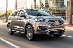 Ford recently used the North American International Auto Show to introduce the… The post Ford Edge Titanium Elite Does Its Best Denali Impre. Bmw Models, Sports Models, Next To Buy, Ford Svt, Best Crossover, Best Suv, Mid Size Suv, Small Suv, Car Salesman