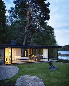 Holiday house of Buster Delin designed by Buster Delin located in Lundnas, #Sweden © Patric Johansson #designandlive