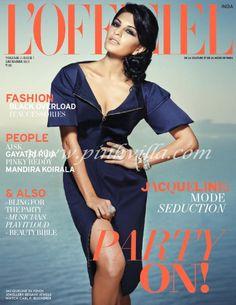 Jacqueline on L'officiel India cover