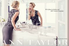 GIO's FASHION MAG: Kate Hudson by Mikael Jansson for Ann Taylor Fall Winter 2013/14