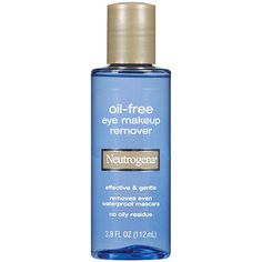 Neutrogena Oil-Free Eye Makeup Remover (also removes waterproof mascara)