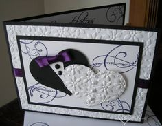 His and Her Wedding Hearts by darbaby - Cards and Paper Crafts at Splitcoaststampers