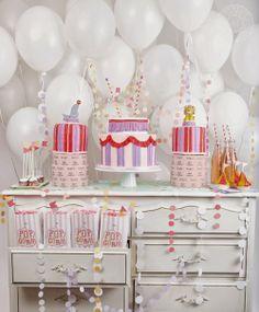 Cumple ó baby shower temático de circo - Circus themed party/ baby shower