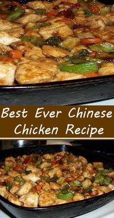 Chinese Chicken Recipes, Easy Chinese Recipes, Asian Recipes, Asian Foods, Baked Chicken And Dumplings, Asian Stir Fry, Asian Cooking, Mets, Food Dishes