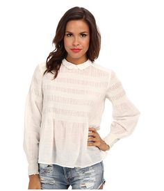 Free People Knock On Wood Top Ivory - Zappos.com Free Shipping BOTH Ways