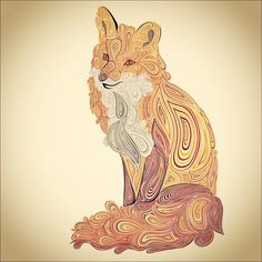 Fox on Behance