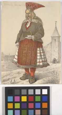 Eesti muuseumide veebivärav - Naine Mustjalast