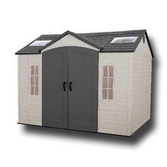 garden sheds lifetime 10x8 heavy duty plastic shed - Garden Sheds 7x7