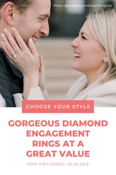 Build your dream diamond engagement ring (from the cut to the setting to the band!) with Blue Nile, and you'll get maximum sparkle at the right price. ✨ #ad Dream Engagement Rings, Best Diamond, Blue Nile, Sparkle, Bling, Amazing, Desserts, Instagram, Style