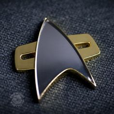 Star Trek: Voyager Communicator Badge | Star Trek Shop
