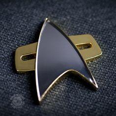 Star Trek: Voyager Communicator Badge | Star Trek Shop