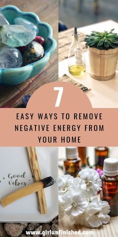 Does your feel stagnant or low vibe? Does your home feel stuffy and negative? These are a few telltale signs that your home may need an energy cleanse. Click here to learn seven quick and easy ways to renew the energy in your home. #cleaninghacks #spiritualcleanse #energycleanse List Of Essential Oils, Creating Positive Energy, Removing Negative Energy, Feng Shui Tips, Meditation Space, Healing Meditation, Guided Meditation, Good Energy, Me Time
