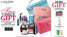 Paris Gifts, Estee Lauder Gift, Lancome Gift With Purchase, Dillards, Shop Now, Public, Stuff To Buy, Free, Pictures