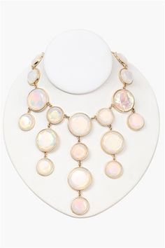 Bubble Statement Necklace