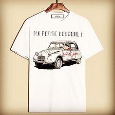 Tshirt, vintage, men, France, made in France, Citroen